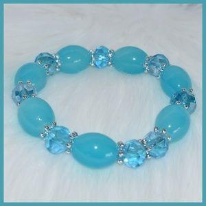 Jewelry - Blue Beaded Bracelet